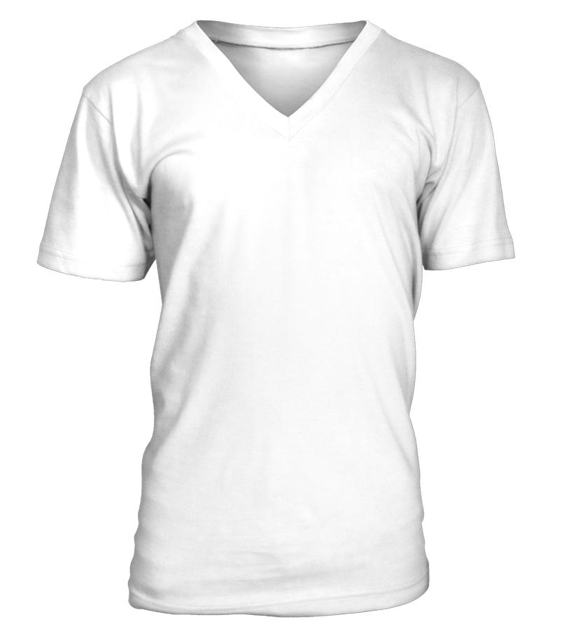 T-shirt Col V Unisexe Personnalisé recto