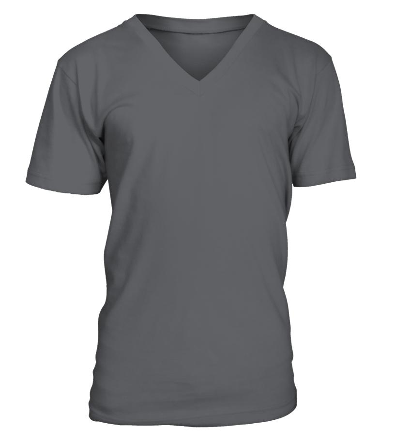Personalised V-Neck Unisex T-shirt front