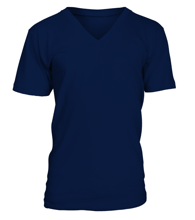 Personalised V-Neck Unisex T-shirt front