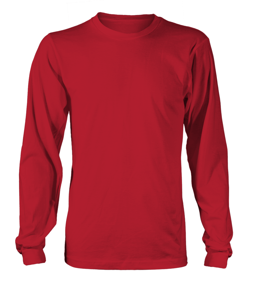 Personalised Long Sleeved T-shirt front