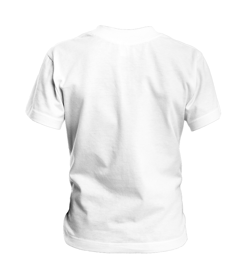 Gepersonaliseerde ronde hals Kinder T-shirt back